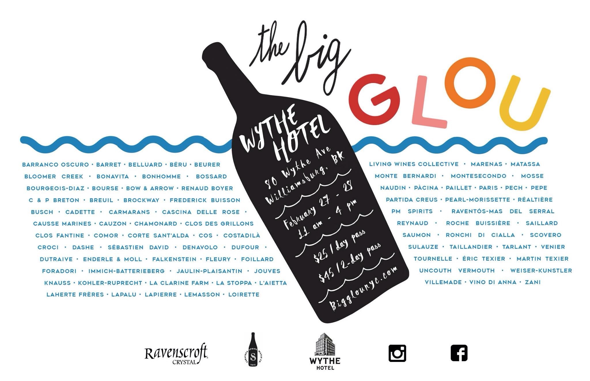 THE BIG GLOU – TASTING IN NEW YORK 27.02.2016